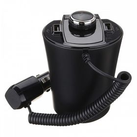 Bluetooth / USB / MP3 FM Transmitter με Φορτιστή USB 2.1A - BX6 (Αξεσουάρ αυτοκινήτου)