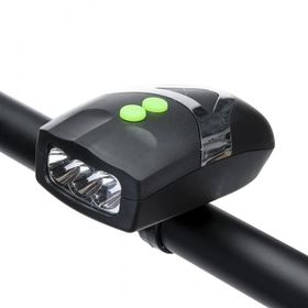 Φωτισμός Ποδηλάτου LED με Κόρνα (Hobbies & Sports)
