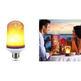 Λάμπα LED με Εντυπωσιακό Φωτισμό Φλόγα 9W (Φωτισμός)