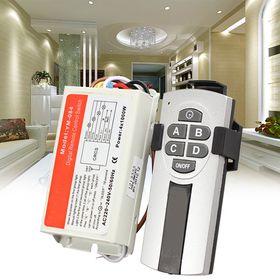 Τηλεχειρισμός Ηλεκτρικών Συσκευών και Φωτισμού 4 Καναλιών (Τεχνολογία )