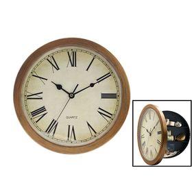 Ρολόι Τοίχου με Εσωτερική Υποδοχή για Αντικείμενα - Safe clock (Ρολόγια)