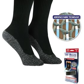 Αυτoθερμαινόμενες Κάλτσες με Ειδική Ύφανση από Νήμα Αλουμινίου - 35 Below Socks (Υγεία & Ευεξία)
