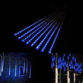 Εντυπωσιακός Διακοσμητικός Μπλε Φωτισμός LED Βροχή – SMD Led Shower (Εποχιακά)