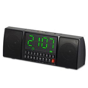 Ηχείο Bluetooth με Ρολόι Ξυπνητήρι και Hands-Free (Ήχος & Εικόνα)