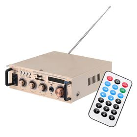 Mini Hi-Fi Στερεοφωνικός Ραδιοενισχυτής Karaoke 30W (Ήχος & Εικόνα)
