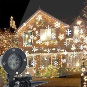 Νυχτερινός Διακοσμητικός Χριστουγεννιάτικος Φωτισμός Laser - Projector Snowflake (Εποχιακά)