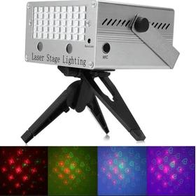 Τηλεχειριζόμενο Φωτορυθμικό Laser-Mini Laser Stage Lighting MP3 Holographic Anime Projector YX - 022M (Φωτισμός)