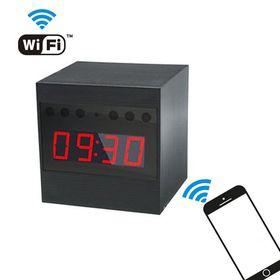 Επιτραπέζιο Ρολόι WiFi-Κρυφή Κάμερα με Ανίχνευση Κίνησης και Νυχτερινή Λήψη (Ασφάλεια & Παρακολούθηση)
