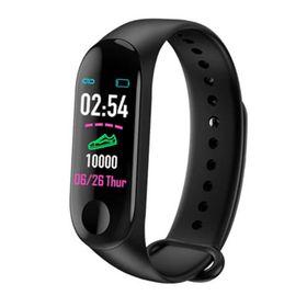 Έξυπνο Ρολόι με Καταγραφή Βημάτων και Πίεσης Αίματος και Καρδιακών Παλμών και Ύπνου- Health Bracelet M3 (Τεχνολογία )