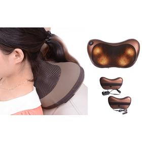 Ηλεκτρικό Θερμαινόμενο Μαξιλάρι Shiatsu Massage για το Σπίτι & και το Αυτοκίνητο (Υγεία & Ευεξία)