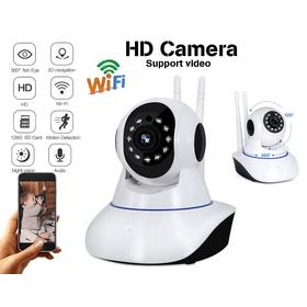 Έγχρωμη Ρομποτική IP Κάμερα WIFI με Νυχτερινή Λήψη έως 10m (Ασφάλεια & Παρακολούθηση)