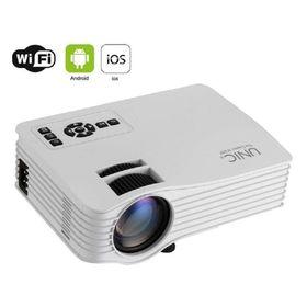 Φορητός Προτζέκτορας Προβολής Led Wifi Unic® με HDMI, SD, USB DLNA DR1 (Ήχος & Εικόνα)