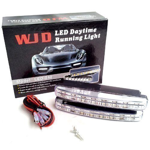 Προβολάκια - Φώτα Ημέρας Αυτοκινήτου WJD LED - 240 (Αξεσουάρ αυτοκινήτου)
