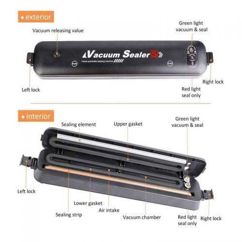Αυτόματη Συσκευή Αεροστεγούς Σφραγίσματος Vacuum OEM (Κουζίνα )