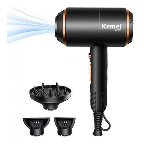 Επαγγελματικό Σεσουάρ Μαλλιών 3 σε 1 Kemei KM-8896 (Ομορφιά)