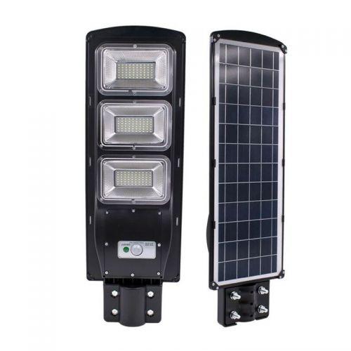 Ηλιακό Φωτιστικό Εξωτερικών Χώρων 90W με Αισθητήρα Κίνησης και Φωτός και Τηλεχειριστήριο (Φωτισμός)