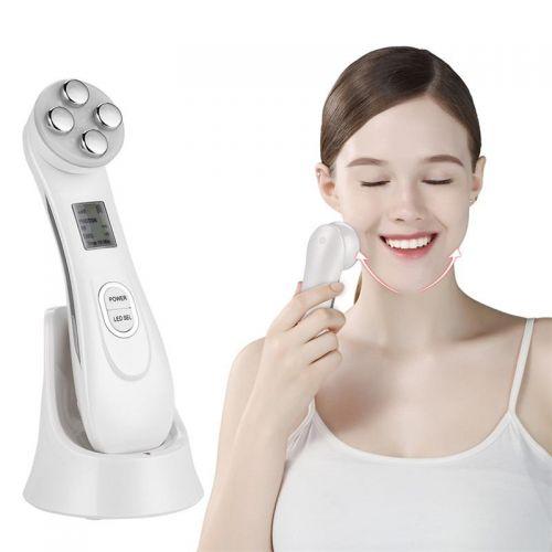 Συσκευή RF/ Μεσοθεραπείας 5 σε 1 LED Φωτοθεραπείας Anti-Aging Beauty Instrument (Υγεία & Ευεξία)