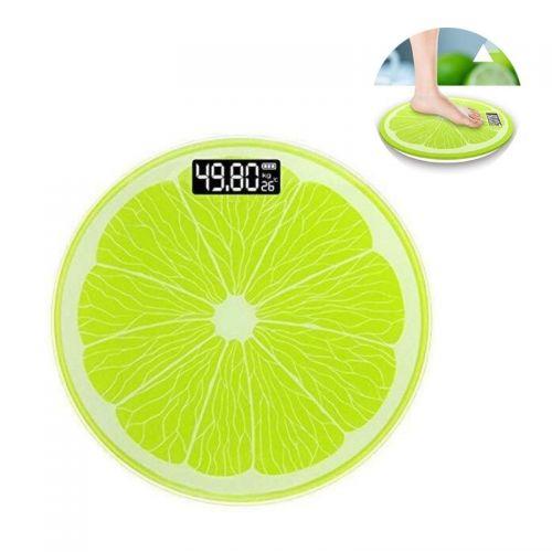 Ψηφιακή Ζυγαριά Μπάνιου σε Σχέδιο Lime (Μπάνιο)