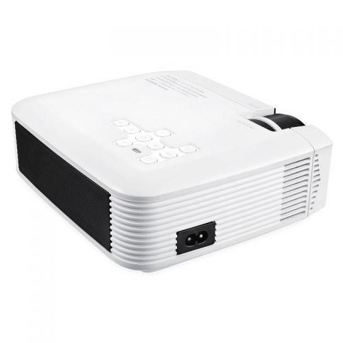 Φορητός Προτζέκτορας Προβολής LED Home Theater HD με HDMI, VGA, USB (Ήχος & Εικόνα)