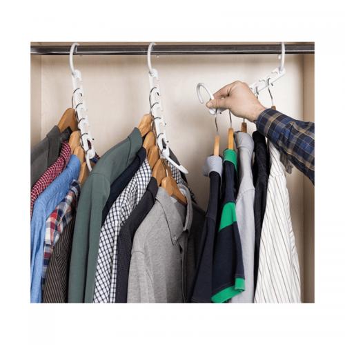 Σετ 24 Τεμάχια Έξυπνες Κρεμάστρες για 120 Ρούχα (Οργάνωση σπιτιού)