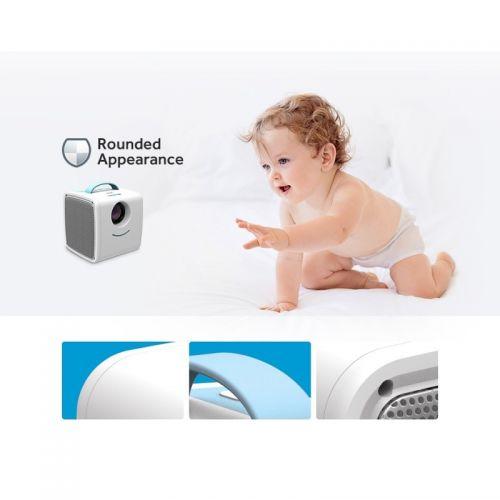 Φορητός Παιδικός Προτζέκτορας Προβολής HD με Stereo Ηχεία (HDMI, AV, USB, SD Card) (Ήχος & Εικόνα)