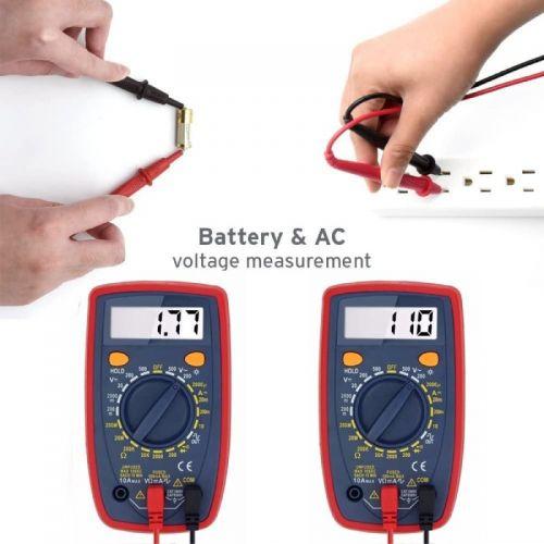 Ψηφιακό Πολύμετρο με Φωτιζόμενη Οθόνη LCD - DT33 (Εργαλεία)