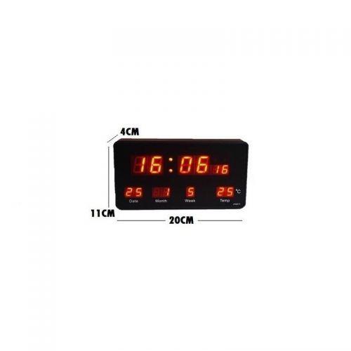 Επιτραπέζιο Ψηφιακό Ρολόι LED με Ένδειξη Ημερομηνίας και Θερμοκρασίας JH-2158 (Ρολόγια)