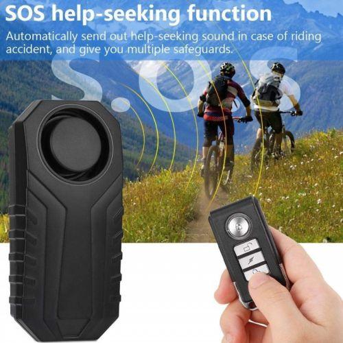 Αδιάβροχος Συναγερμός Ποδηλάτου-Μηχανής με Τηλεχειριστήριο (Hobbies & Sports)