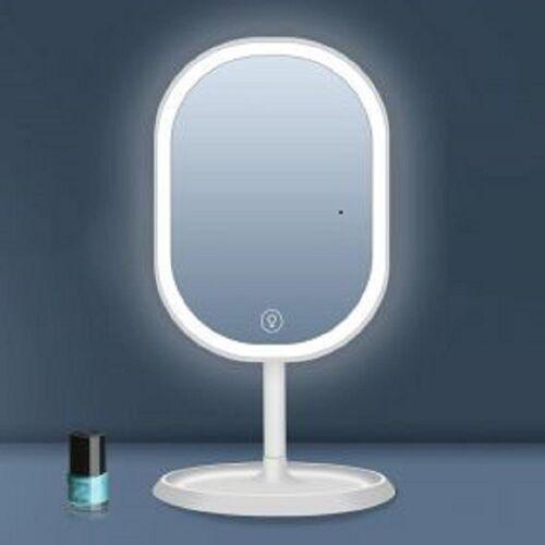 Περιστρεφόμενος LED Καθρέφτης Αφής (Ομορφιά)