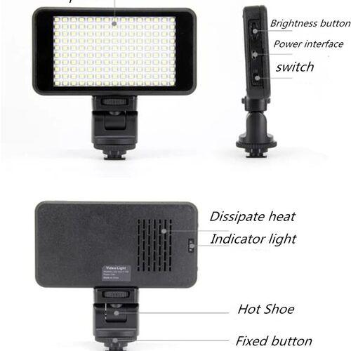 Επαγγελματικό Φωτιστικό Κάμερας Led (Ήχος & Εικόνα)