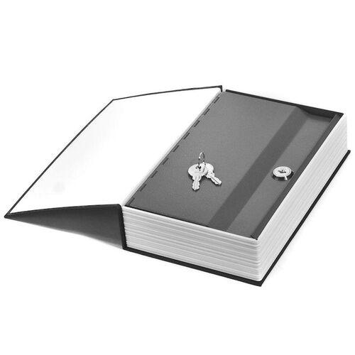 Βιβλίο Χρηματοκιβώτιο Ασφαλείας με Κλειδί Χρώμα Μαύρο - Book Safe Dictionary 240 x 155 x 55mm (Ασφάλεια & Παρακολούθηση)