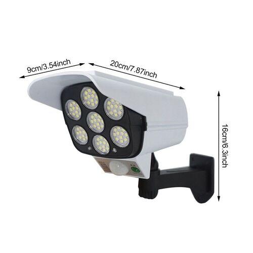 Ηλιακός Προβολέας σε Σχήμα Κάμερας Ασφαλείας (Φωτισμός)