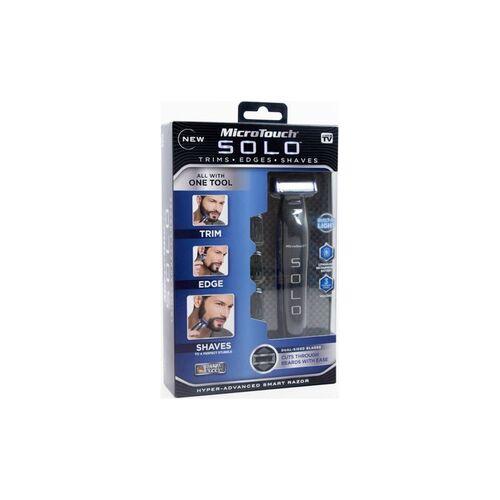 Επαναφορτιζόμενη Ξυριστική Μηχανή και Trimmer - MicroTouch Solo (Ομορφιά)