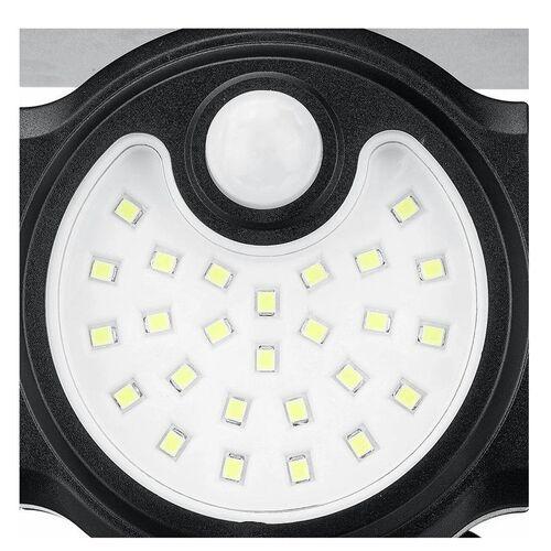 Τριπλό Ρυθμιζόμενο Ηλιακό Φωτιστικό Εξωτερικού Χώρου 112 LED με Αισθητήρα Κίνησης (Φωτισμός)