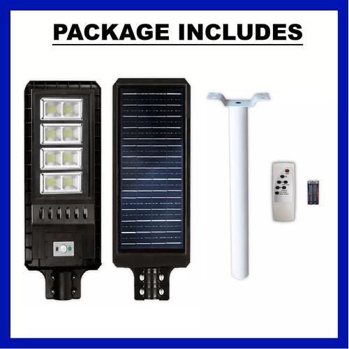 Αυτόνομο Ηλιακό Σύστημα Εξωτερικού Φωτισμού LED 120W με Τηλεχειριστήριο GD-78120 (Φωτισμός)