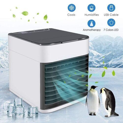 Φορητό Μίνι Κλιματιστικόr με Τεχνολογία Εξάτμισης - Air Cooler USB (Ψύξη - Θέρμανση)