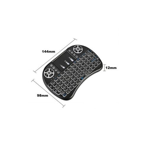 Mini Ασύρματο Πληκτρολόγιο Touchpad (Αξεσουάρ Η/Υ)