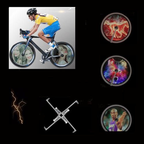 Σύστημα Προβολής Εικόνων για τις Ακτίνες του Ποδηλάτου (Hobbies & Sports)