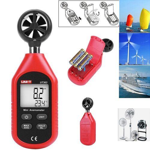 Μίνι Ψηφιακό Ανεμόμετρο και Θερμόμετρο (Ψύξη - Θέρμανση)