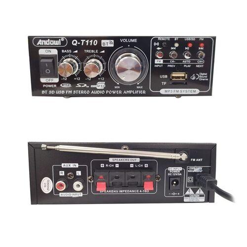 Ενισχυτής Ήχου Bluetooth, Δύο Καναλιών, USB, SD Radio Speaker με Τηλεχειριστήριο (Ήχος & Εικόνα)