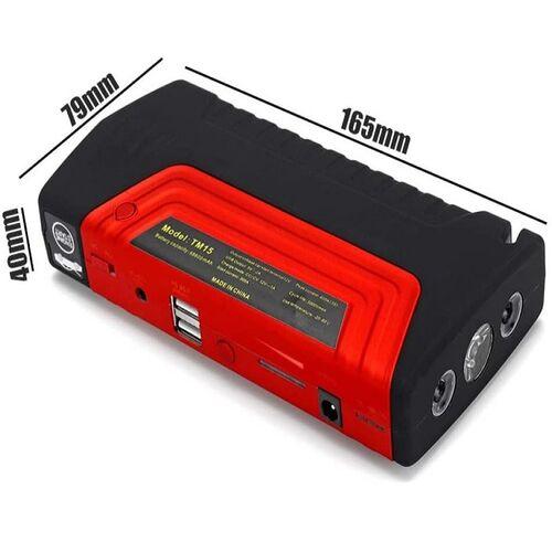 Σετ Εκτάκτου Ανάγκης με Εκκινητή Μπαταρίας Jump Starter, Powerbank USB και Τρόμπα Αέρος Κομπρεσέρ (Αξεσουάρ αυτοκινήτου)