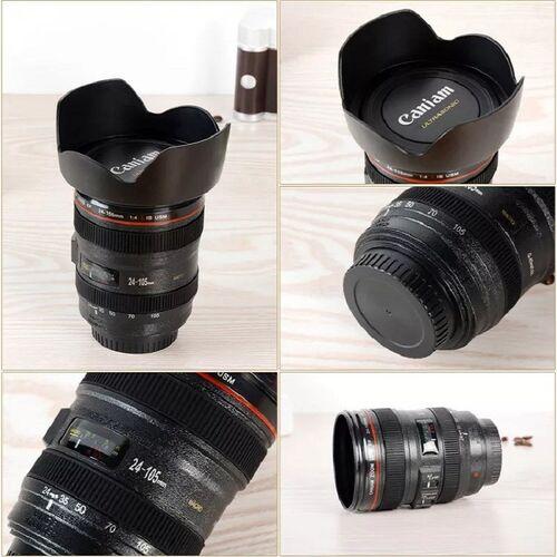 Ποτήρι Θερμός σε Σχήμα Φακού Φωτογραφικής Μηχανής (Hobbies & Sports)