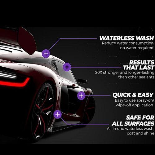 Καθαριστικό και Γυαλιστικό Αυτοκινήτου Shine Αrmor (Αξεσουάρ αυτοκινήτου)