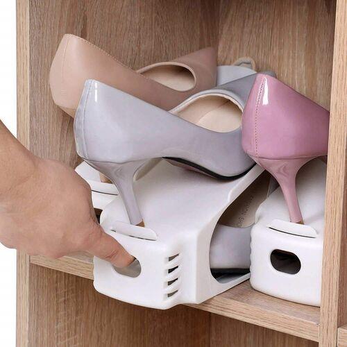 Θήκες Οργάνωσης Παπουτσιών Σετ 6 Τεμάχια (Οργάνωση σπιτιού)