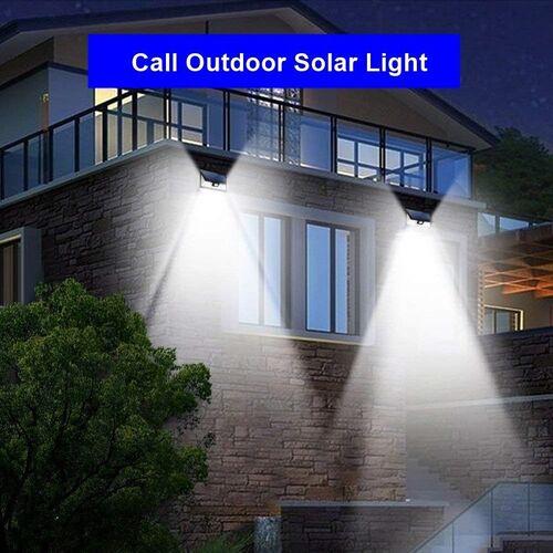 Ηλιακό Φωτιστικό Τοίχου με Ευρεία Γωνία και 54 Φώτα LED (Φωτισμός)