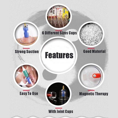 Το Σετ Βεντούζες 18 Τεμαχίων Παραδοσιακής Θεραπείας (Υγεία & Ευεξία)