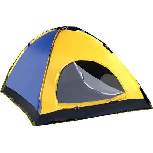 Σκηνή Camping 4 Ατόμων - 205x205x135cm με Σίτα και Παράθυρο (Hobbies & Sports)