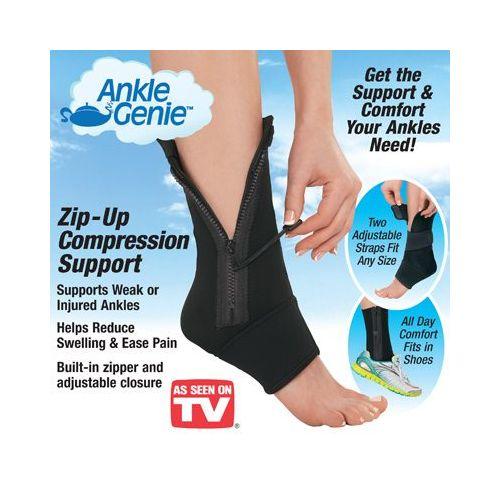 Προστατευτικό Αστραγάλου με Φερμουάρ - Ankle Genie (Υγεία & Ευεξία)