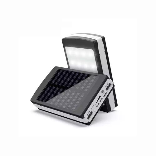 Ηλιακός Φορτιστής 15000 mAh για Φορητές Συσκευές με Ενσωματωμένο Φακό 20 LED - Power Bank (Κινητά & Αξεσουάρ)