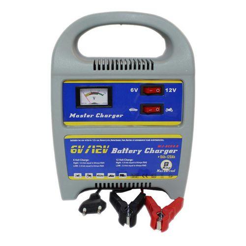 Ηλεκτρονικός φορτιστής Μπαταρίας Αυτοκινήτου & Μηχανής 6/12v 8 Amp (Αξεσουάρ αυτοκινήτου)